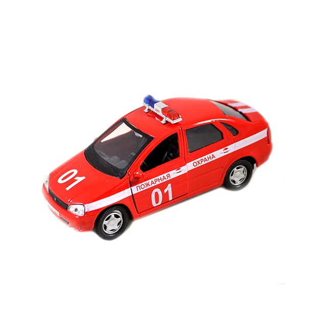 фото Модель автомобиля AUTOTIME LADA Kalina. Пожарная охрана