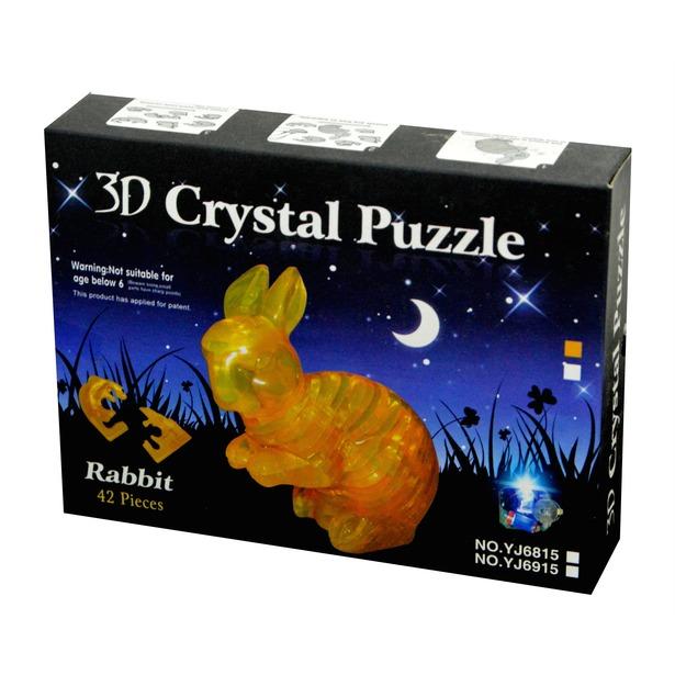 фото Кристальный пазл 3D Crystal Puzzle «Кролик»