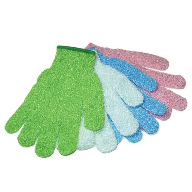 фото Мочалка для душа Банные штучки перчатка. В ассортименте