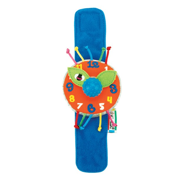 фото Часики мягкие наручные K'S Kids «Мои первые часы»