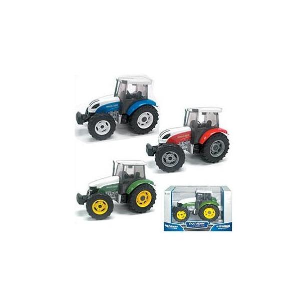 фото Модель автомобиля AUTOTIME Modern Tractor. В ассортименте