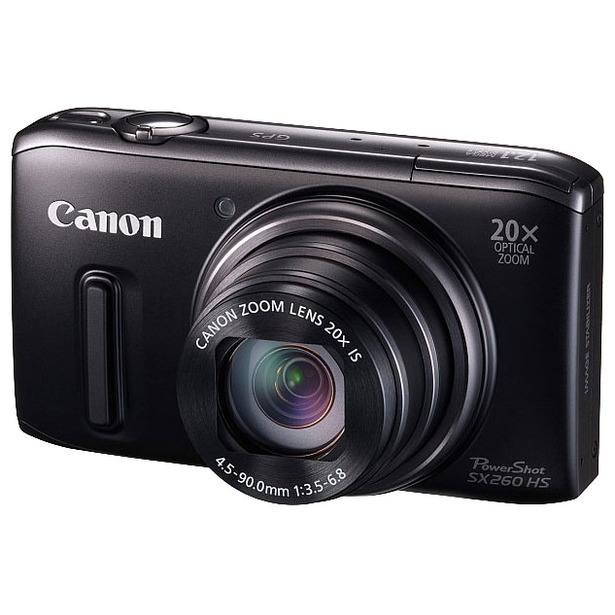 фото Фотокамера цифровая Canon PowerShot SX260 HS. Цвет: черный