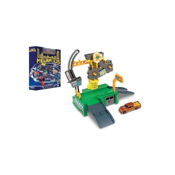фото Набор игровой для мальчиков AUTOTIME Megapolis. Завод с машиной