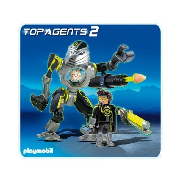 фото Секретный агент: Мега робот с бластером Playmobil 5289pm