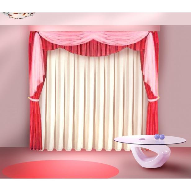 фото Комплект штор Zlata Korunka «Фавила». Цвет: бордовый