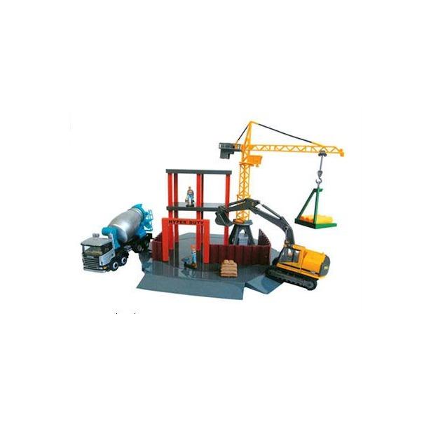 фото Набор игровой для мальчиков Cararama Construction Site
