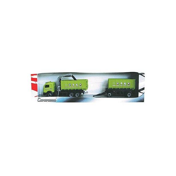 фото Модель автомобиля Cararama Road Train