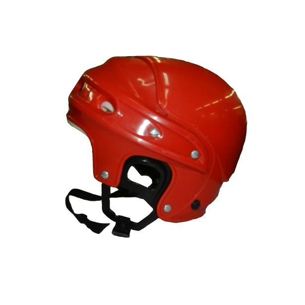 фото Шлем хоккейный ATEMI «Мега». Цвет: красный