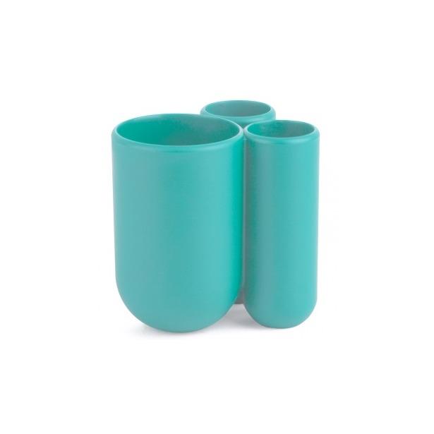 фото Подставка для зубных щеток Umbra Touch. Цвет: морская волна