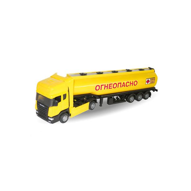 фото Модель автомобиля AUTOTIME Scania «Бензовоз»