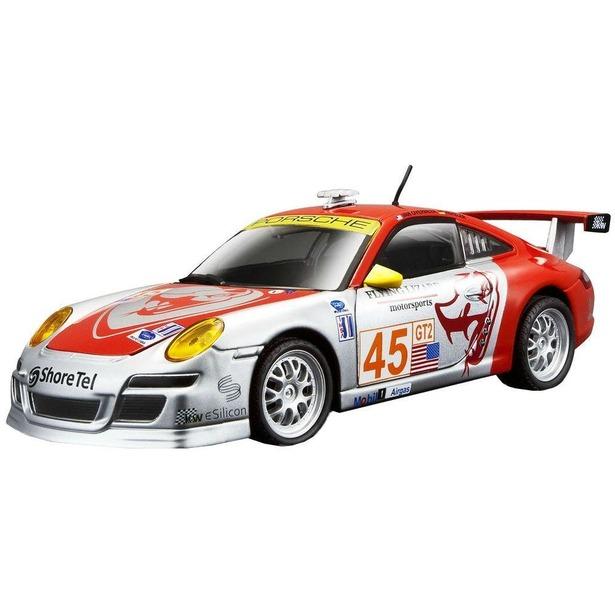 фото Модель автомобиля 1:24 Bburago Porsche 911 GT3 RSR