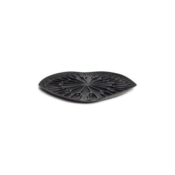 фото Сушилка-поднос Qualy Lotus. Цвет: черный