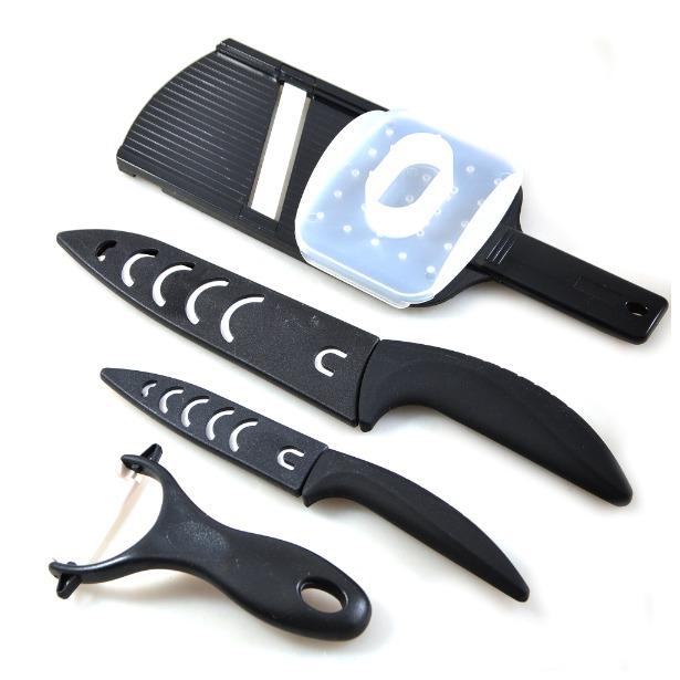 фото Набор керамических ножей Webber ВЕ-2212К
