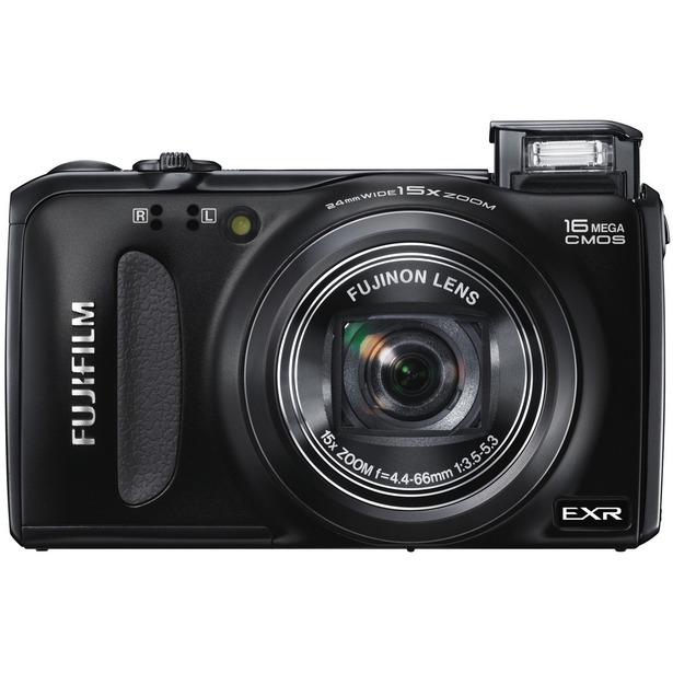 фото Фотокамера цифровая Fujifilm FinePix F660EXR. Цвет: черный