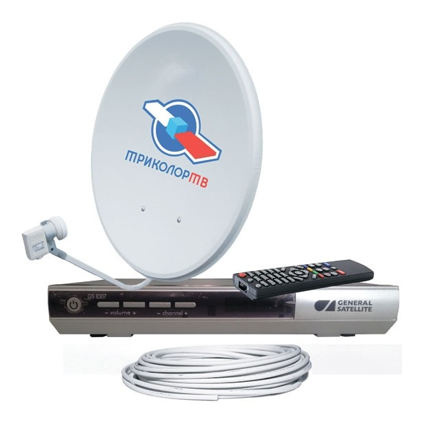 фото Комплект спутникового телевидения Триколор ТВ GS-8307
