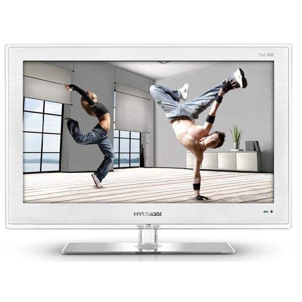 фото Телевизор Hyundai H-LED24V8. Цвет: белый