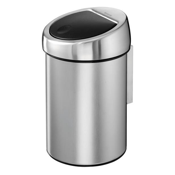 фото Бак для мусора Brabantia Touch Bin. Объем: 3 литра