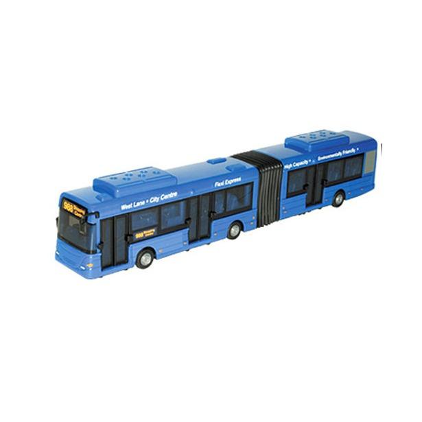 фото Модель автомобиля AUTOTIME City Bus. Автобус длиннобазный. В ассортименте