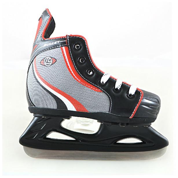 фото Коньки хоккейные раздвижные Larsen Bullet. Размер: S (28-31)