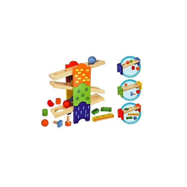 фото Развивающая игрушка I'm toy «Скамейки»