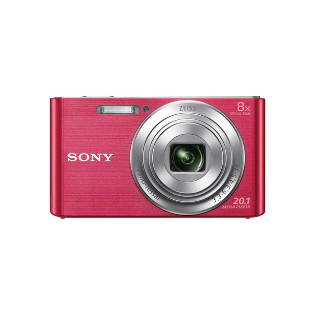 фото Цифровой фотоаппарат SONY DSC-W830. Цвет: розовый