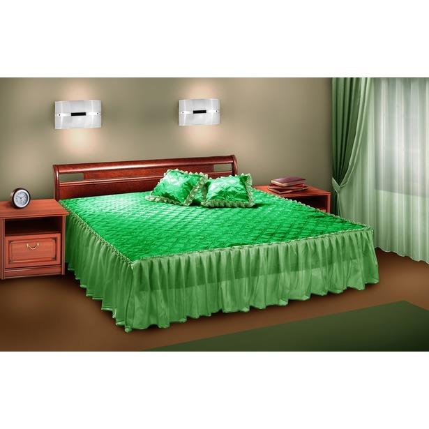 фото Комплект для спальни Zlata Korunka П001. Цвет: салатовый