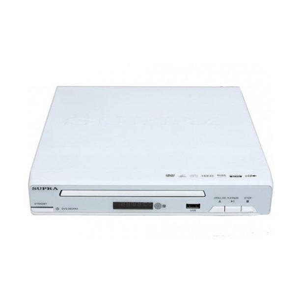 фото DVD-плеер Supra DVS-065XK. Цвет: белый