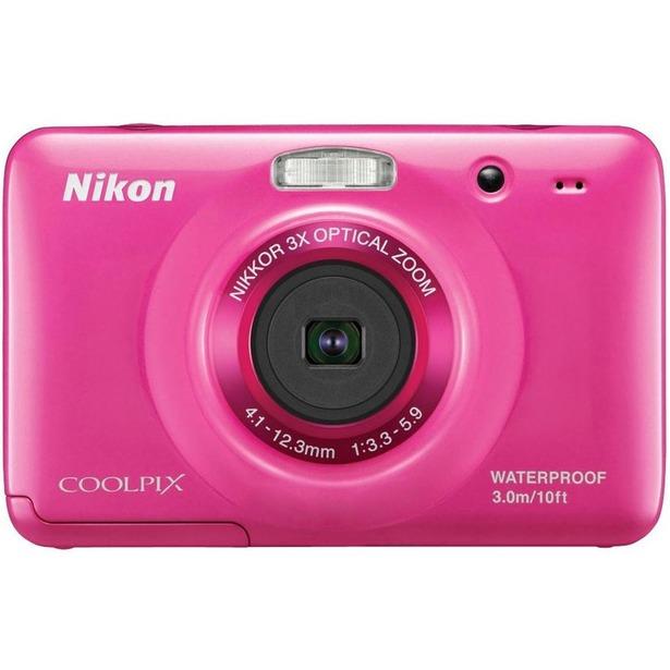 фото Фотокамера цифровая Nikon CoolPix S30. Цвет: розовый
