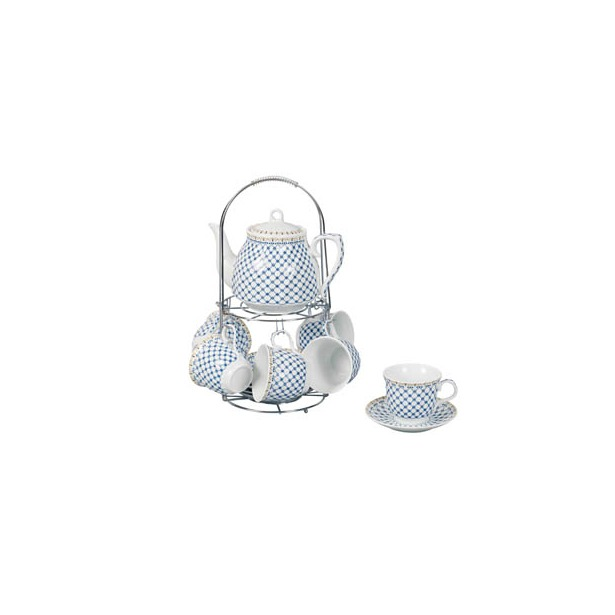 фото Чайный набор на подставке Grazie «Нимфа» с чайником