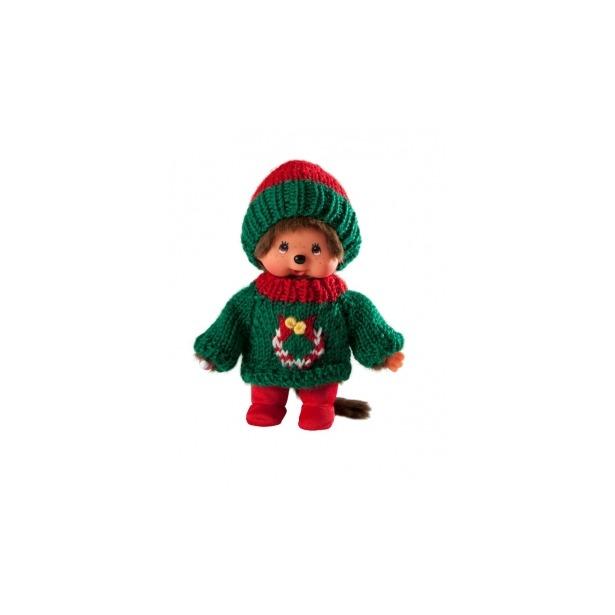 фото Мягкая игрушка Sekiguchi Мальчик в зеленом свитере