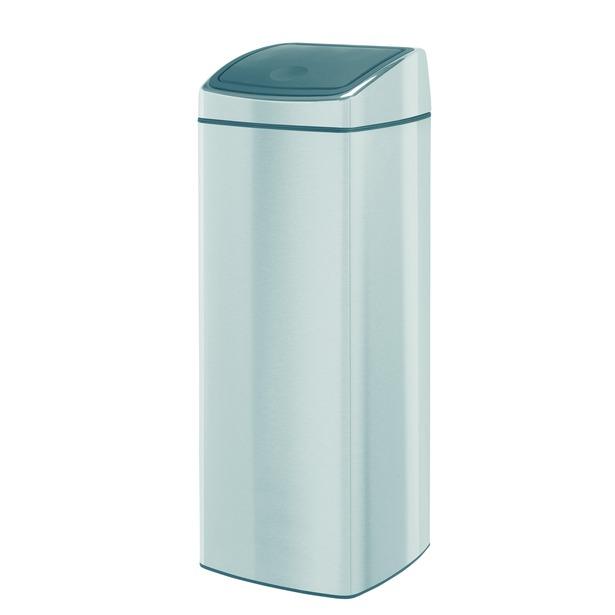 фото Бак для мусора прямоугольный Brabantia Touch Bin. Объем: 25 литров
