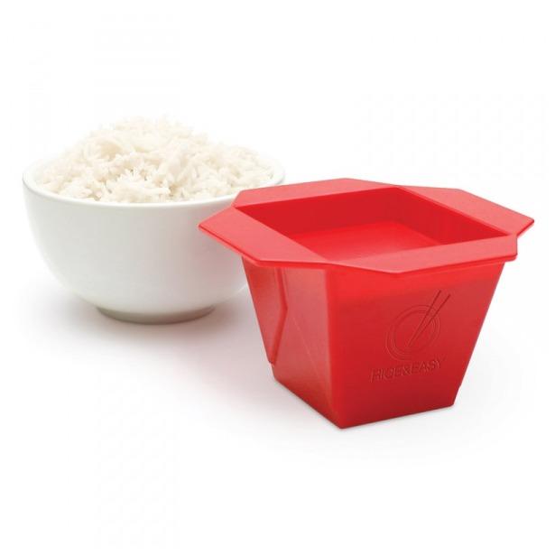 фото Мера для варки риса Luckies Rice and Easy. Цвет: красный
