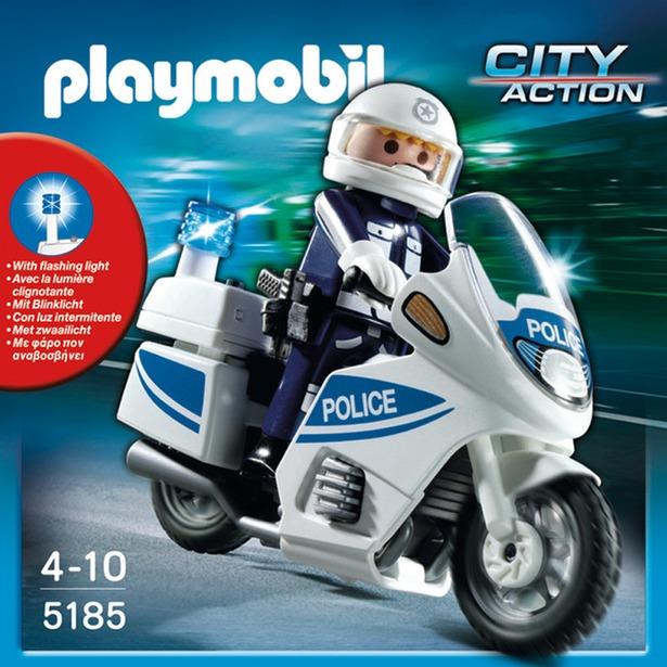 фото Полицейский мотоцикл Playmobil 5185pm