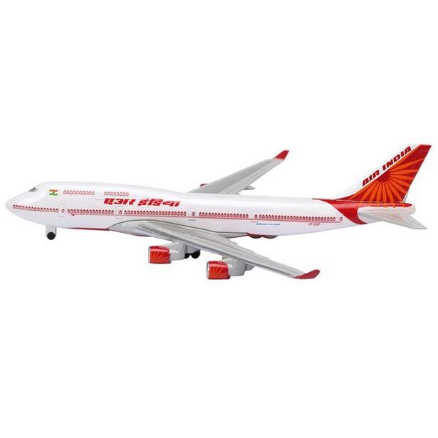 фото Модель самолета 1:600 Schabak Air India B747-400