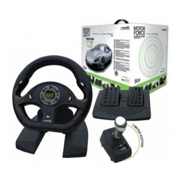 фото Руль Atomic TVR Motor Force Steering Wheel