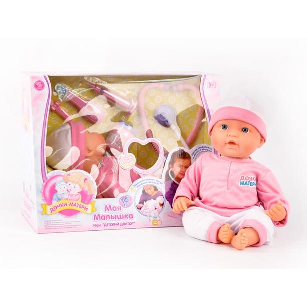 фото Кукла малыша интерактивная Joy Toy 5238. В ассортименте