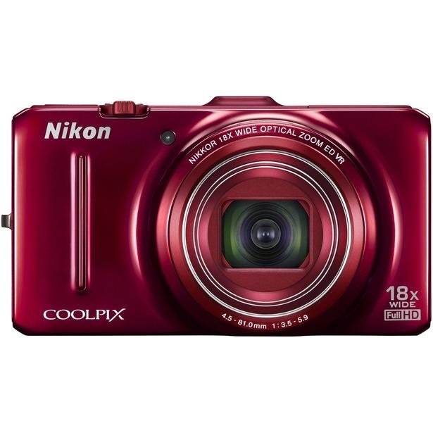 фото Фотокамера цифровая Nikon CoolPix S9300. Цвет: красный
