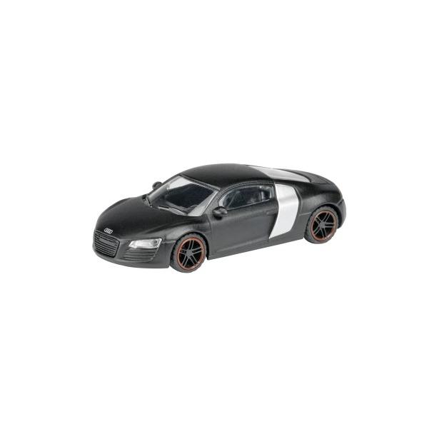 фото Модель автомобиля 1:87 Schuco Audi R8. Цвет: матовый черный