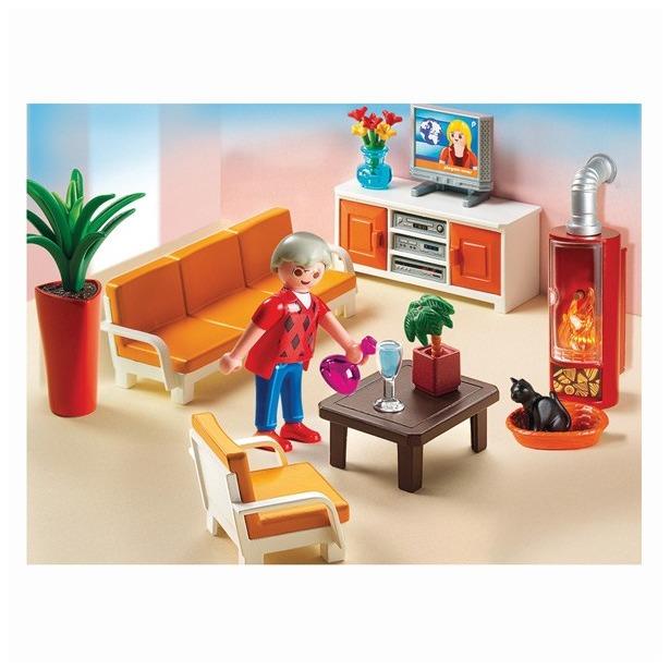 фото Кукольный дом: Гостиная Playmobil 5332pm