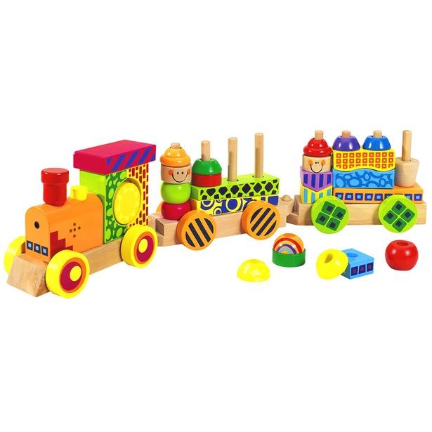 фото Паровозик игрушечный Eichhorn 2236