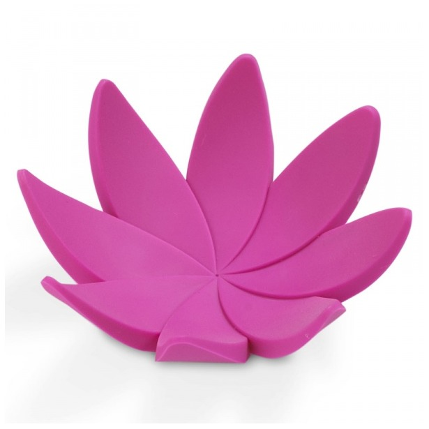 фото Подставка для колец Umbra Lotus. Цвет: фуксия