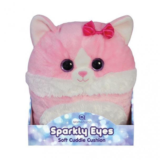 фото Игрушка-подушка Aroma Home Sparkly Eyes «Кошка»
