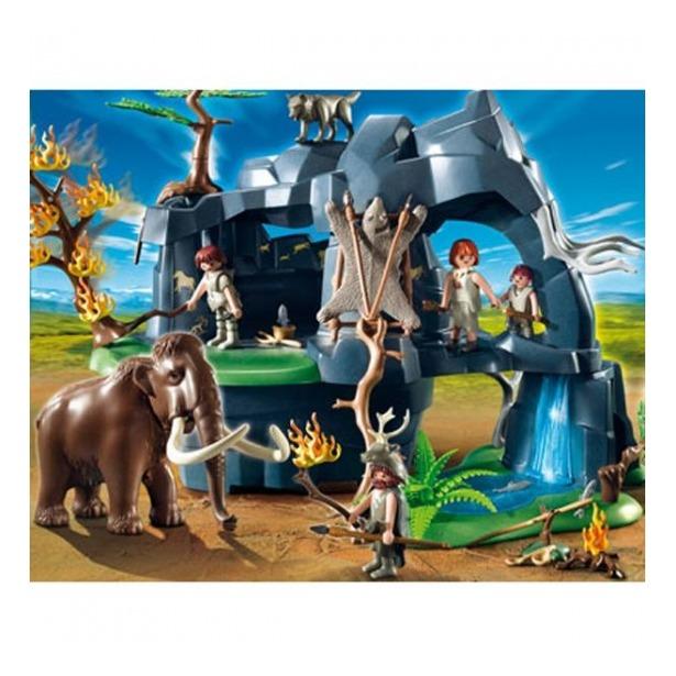 фото Каменный век:Скала с мамонтом Playmobil 5100pm