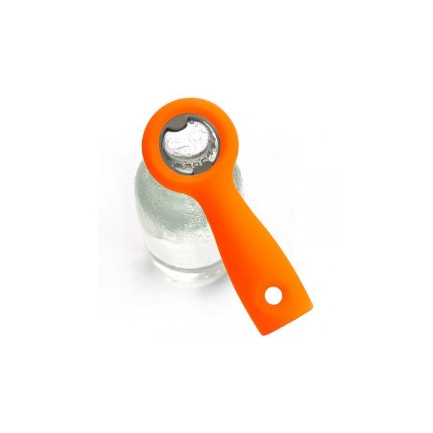 фото Открывалка для бутылок Qualy Positive. Цвет: оранжевый