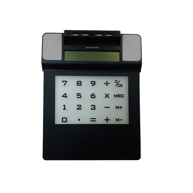 фото Коврик для мышки с калькулятором, динамиком и USB-хабом 31ВЕК SEG-0314