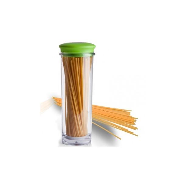 фото Банка для хранения вакуумная Qualy Storage Jar. Цвет: зеленый, прозрачный. Размер: 31х9,5 см. Объем: 1,5 л