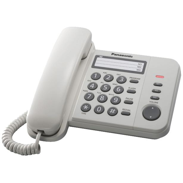 фото Телефон Panasonic KX-TS2352. Цвет: белый