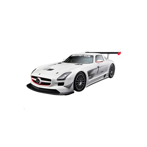 фото Модель автомобиля AUTOTIME Mercedes-Benz SLS AMG GT3. В ассортименте