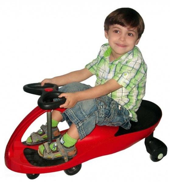 фото Машина детская Bradex Bibicar. Цвет: розовый. Материал колес: полиуретан