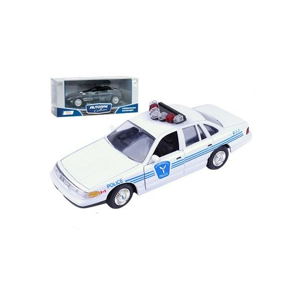 фото Модель автомобиля AUTOTIME Ford Crown Victoria Ottawa Police. В ассортименте